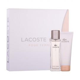 Lacoste Pour Femme, rinkinys kvapusis vanduo moterims, (EDP 50ml + 100ml kūno losjonas)