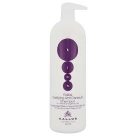 Kallos Cosmetics KJMN, Fortifying Anti-Dandruff, šampūnas moterims, 1000ml