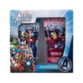 Marvel Avengers Assemble, rinkinys dušo želė vaikams, (dušo želė 150 ml + šampūnas 150 ml)