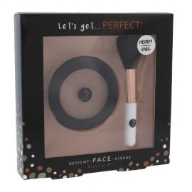 2K Perfect!, Let´s Get, rinkinys bronzantas moterims, (bronzantas 10 g + kosmetika brush 1 pc),