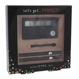 2K Perfect!, Let´s Get, rinkinys makiažo paletė moterims, (Pallete of akių šešėliai 3 x 2,2 g