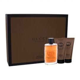 Gucci Guilty Absolute Pour Homme, rinkinys kvapusis vanduo vyrams, (EDP 50 ml + balzamas po