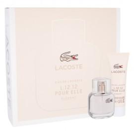 Lacoste Eau De Lacoste L.12.12 Pour Elle Elegant, rinkinys tualetinis vanduo moterims, (EDT 30 ml +