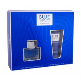 Antonio Banderas Blue Seduction For Men, rinkinys tualetinis vanduo vyrams, (EDT 50 ml + losjonas po