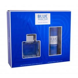 Antonio Banderas Blue Seduction For Men, rinkinys tualetinis vanduo vyrams, (EDT 100 ml +