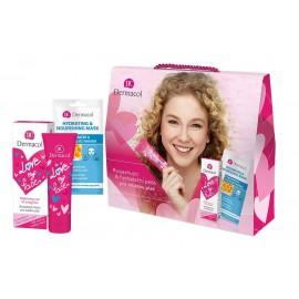Dermacol Brightening Care, Love My Face, rinkinys dieninis kremas moterims, (Daily Facial Care 50 ml