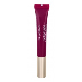 Clarins Instant Light, Natural Lip Perfector, lūpdažis moterims, 12ml, (08 Plum Shimmer)
