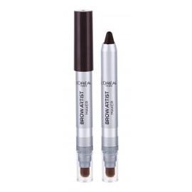 L´Oréal Paris Brow Artist, Maker, antakių kontūrų pieštukas moterims, 1,5g, (04 Dark Brunette)