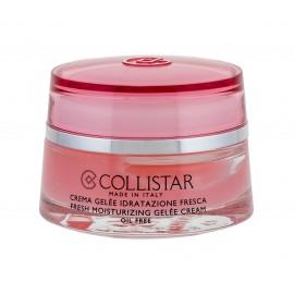 Collistar Idro-Attiva, Fresh Moisturizing Gelée Cream, veido želė moterims, 50ml