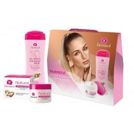 Dermacol Almond Oil, rinkinys kūno losjonas moterims, (kūno losjonas 250 ml + Daily Facial Care