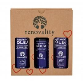 Renovality Argan Oil, Original Series, rinkinys kūno aliejus moterims, (kūno aliejus 100 ml +
