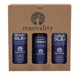Renovality CelluO Oil, Original Series, rinkinys kūno aliejus moterims, (kūno aliejus 100 ml +