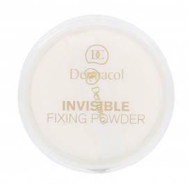 Dermacol Invisible, Fixing Powder, kompaktinė pudra moterims, 13g, (White)