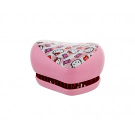Tangle Teezer Compact Styler, plaukų šepetys vaikams, 1pc, (Hello Kitty Candy Stripes)