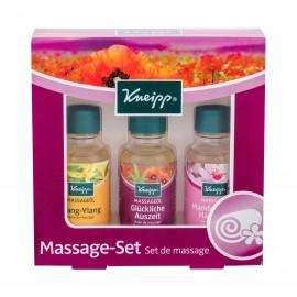 Kneipp Massage Oil, rinkinys masažui moterims, (Massage Oil Ylang-Ylang 20 ml + Massage Oil Happy