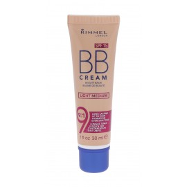 Rimmel London BB Cream, 9in1 SPF15, BB kremas moterims, 30ml, (Light Medium)