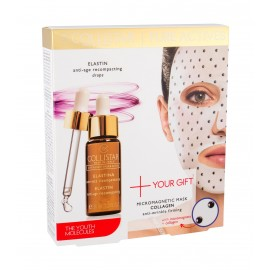 Collistar Elastin Serum + Collagen Mask, Pure Actives, rinkinys veido serumas moterims, (veido