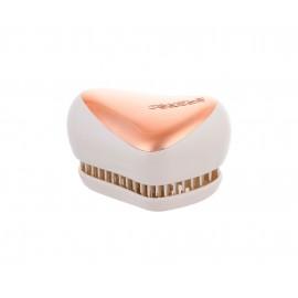 Tangle Teezer Compact Styler, plaukų šepetys moterims, 1pc, (Rose Gold Cream)