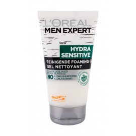 L´Oréal Paris Men Expert, Hydra Sensitive, prausiamoji želė vyrams, 150ml