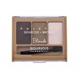 BOURJOIS Paris Brow Palette, dažų paletė antakiams moterims, 4,5g, (Blonde)