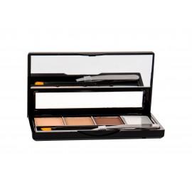 Makeup Revolution London I Heart Makeup, Brows Kit, dažų paletė antakiams moterims, 3g, (Fairest