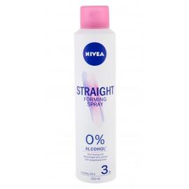 Nivea Forming Spray, Straight, plaukų glotninimui moterims, 250ml