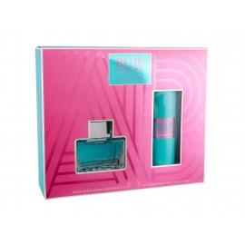 Antonio Banderas Blue Seduction For Women, rinkinys tualetinis vanduo moterims, (EDT 80 ml +
