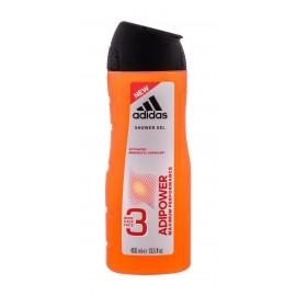 Adidas AdiPower, dušo želė vyrams, 400ml