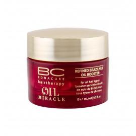Schwarzkopf BC Bonacure Oil Miracle, Brazilnut Oil, plaukų aliejus ir serumas moterims, 15x1ml