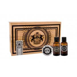 DEAR BARBER Beard Oil, rinkinys barzdos aliejus vyrams, (barzdos aliejus 30 ml + Moustache Wax 25 ml