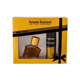 Bruno Banani Man´s Best, rinkinys tualetinis vanduo vyrams, (EDT 30 ml + dezodorantas 50 ml)