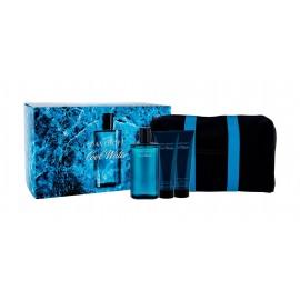 Davidoff Cool Water, rinkinys tualetinis vanduo vyrams, (EDT 125 ml + balzamas po skutimosi 75 ml +