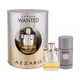 Azzaro Wanted, rinkinys tualetinis vanduo vyrams, (EDT 50 ml + pieštukinis dezodorantas 75 ml)