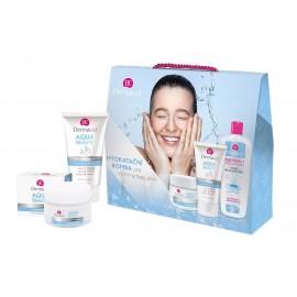 Dermacol Aqua Beauty, rinkinys dieninis kremas moterims, (Moisturizing kremas 50 ml +Face