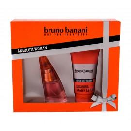 Bruno Banani Absolute Woman, rinkinys tualetinis vanduo moterims, (EDT 20 ml + dušo želė 50 ml)