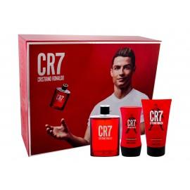 Cristiano Ronaldo CR7, rinkinys tualetinis vanduo vyrams, (EDT 100 ml + dušo želė 150 ml +