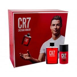 Cristiano Ronaldo CR7, rinkinys tualetinis vanduo vyrams, (EDT 50 ml + pieštukinis dezodorantas 75