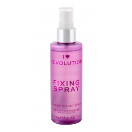 Makeup Revolution London I Heart Revolution, Fixing Spray, makiažo fiksatorius moterims, 100ml