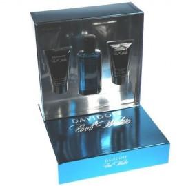 Davidoff Cool Water, rinkinys tualetinis vanduo vyrams, (EDT 75 ml + 50ml dušo želė + 50ml