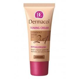 Dermacol Toning Cream, 2in1, BB kremas moterims, 30ml, (06 Caramel)