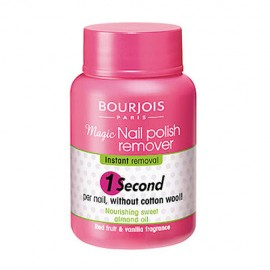 BOURJOIS Paris 1 Second, nagų lako valiklis moterims, 75ml