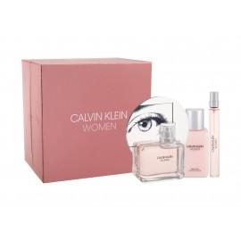 Calvin Klein Calvin Klein Women, rinkinys kvapusis vanduo moterims, (EDP 100 ml + EDP 10 ml + kūno