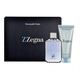 Ermenegildo Zegna Z Zegna, rinkinys tualetinis vanduo vyrams, (EDT 50ml + 100ml dušo želė)