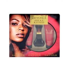 Beyonce Heat Kissed, rinkinys kvapusis vanduo moterims, (EDP 30ml + 75ml kūno losjonas + 75ml dušo