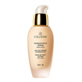 Collistar Anti-Age Lifting Foundation, SPF10, makiažo pagrindas moterims, 30ml, (2 Sand Beige)